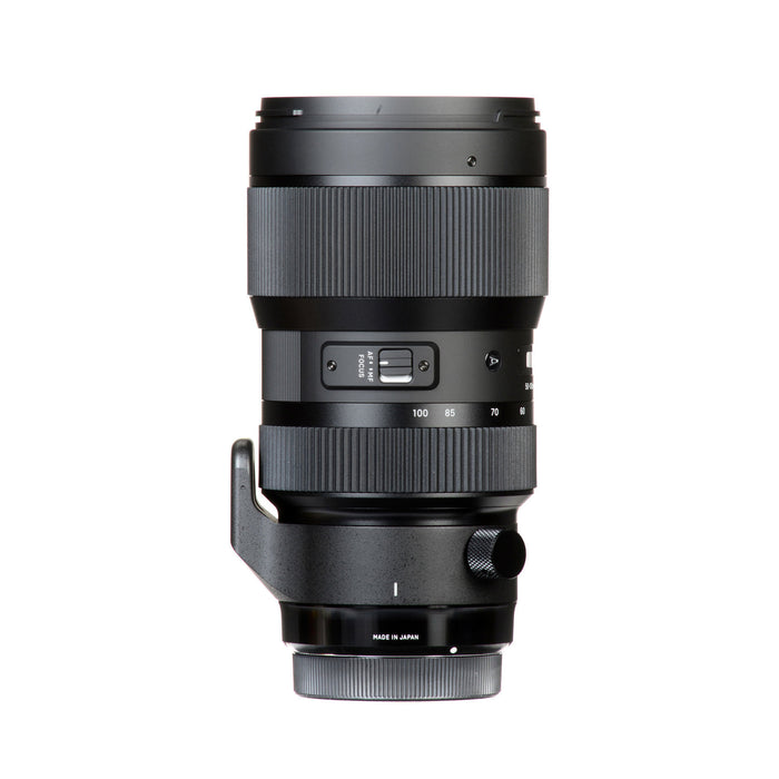 Sigma 50-100mm f/1.8 DC HSM Art Lens for Nikon F
