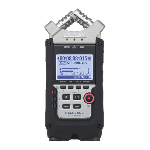 Zoom H4n Pro 4-Input / 4-Track Portable Handy Recorder