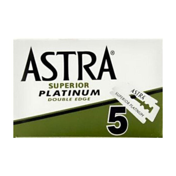 Astra Superior Platinum Green Double Edge Rasierklingen (5 Stk.)