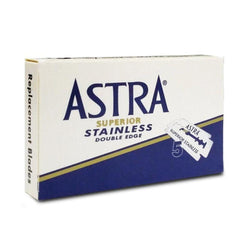Astra Superior Stainless Blue Double Edge Rasierklingen (5 Stk.)