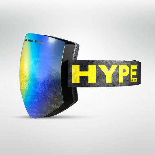 HypeSnow Black'n Yellow Ride Skibriller