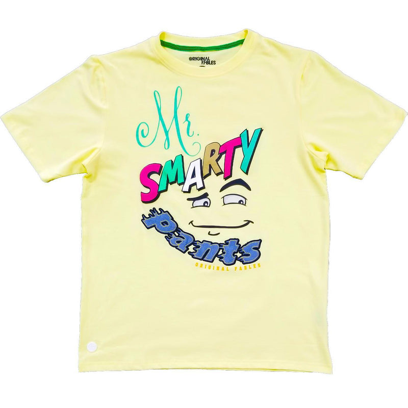 Smarty Pants Tee (Tender Yellow) | Original Fables