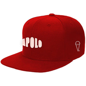 3D Logo Snapback (Red) | Apolo Apparel