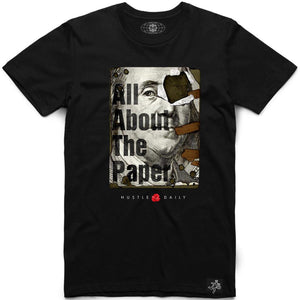 All About The Paper Tee (Black)