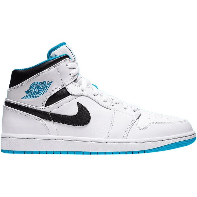 Air Jordan 1 Mid 'Laser Blue'