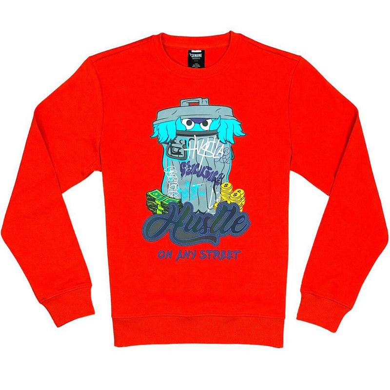 Sesame Crewneck (Red)