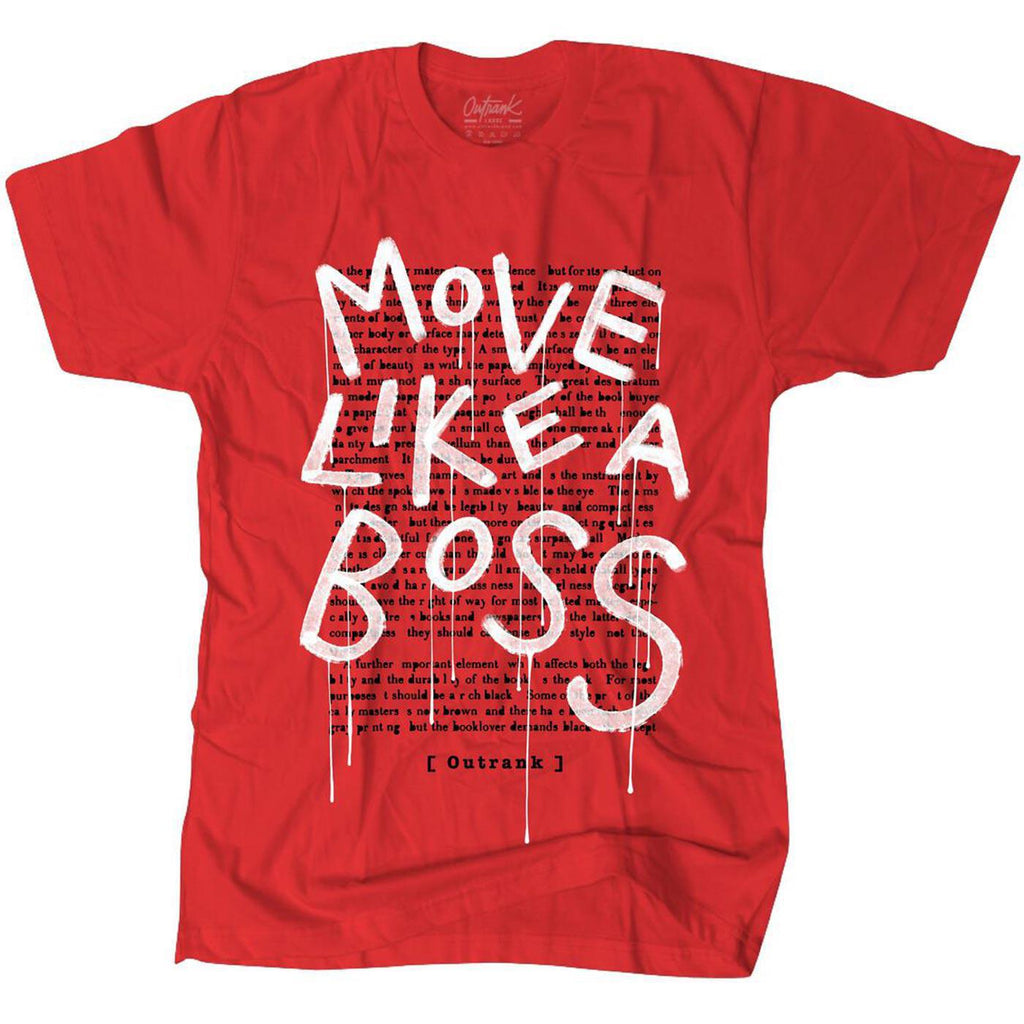 Move Like a Boss Tee (Red)