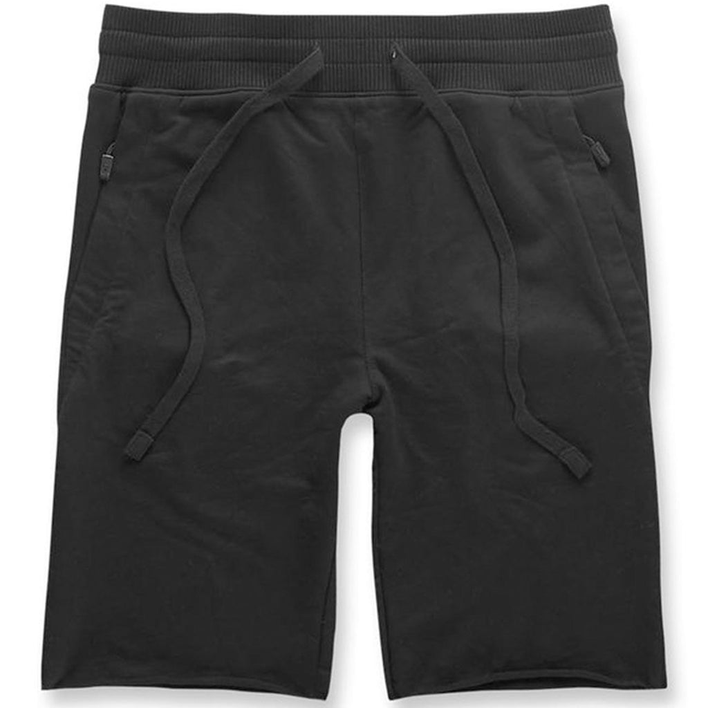 Palma French Terry Shorts (Black) | Jordan Craig