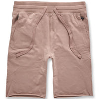 Palma French Terry Shorts (Blush) Rear | Jordan Craig