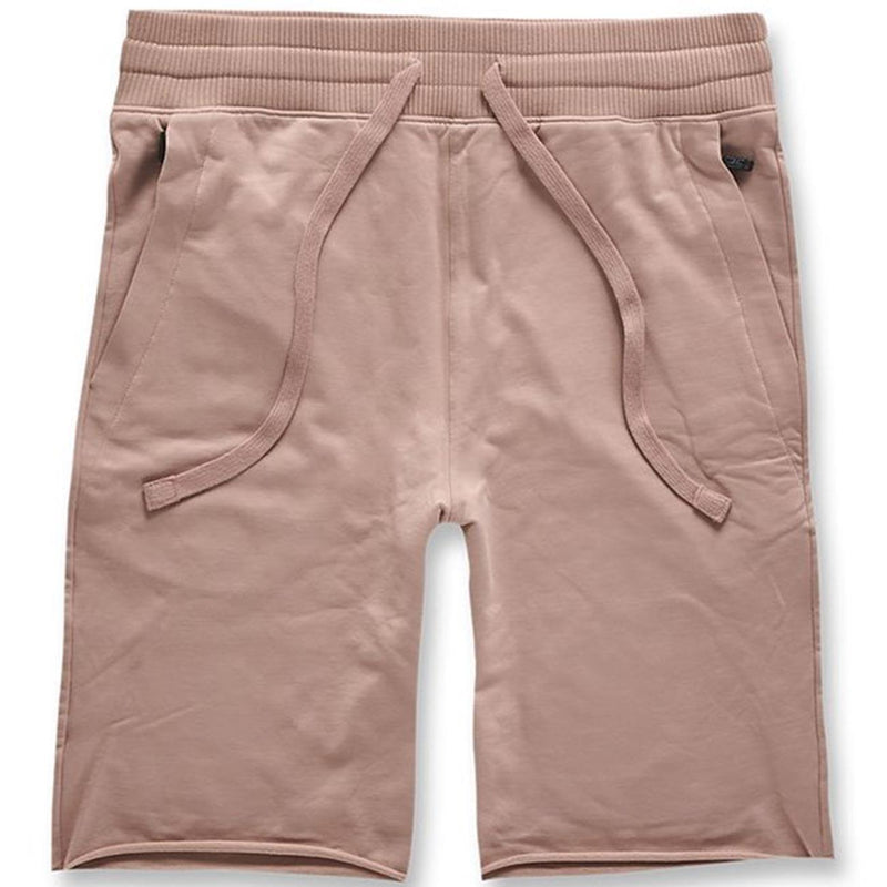 Palma French Terry Shorts (Blush) | Jordan Craig