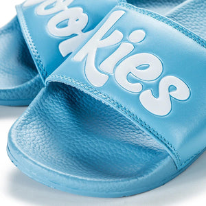 Cookies Original Logo Slides (Blue) New | Cookies Clothing