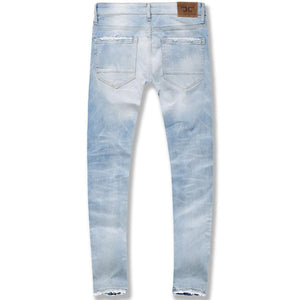 Sean Saratoga Striped Denim (Ice Blue)
