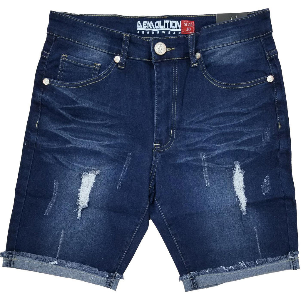 Demo Indigo Blue Jean Shorts