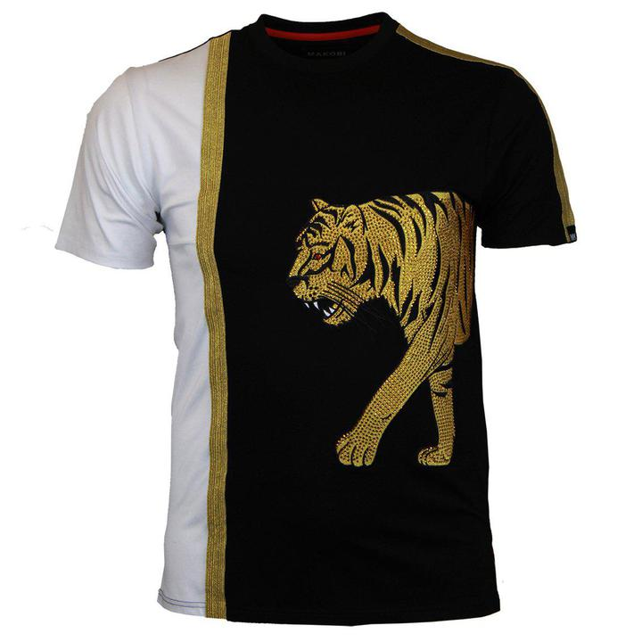 Tiger Walk T Shirt (Black)