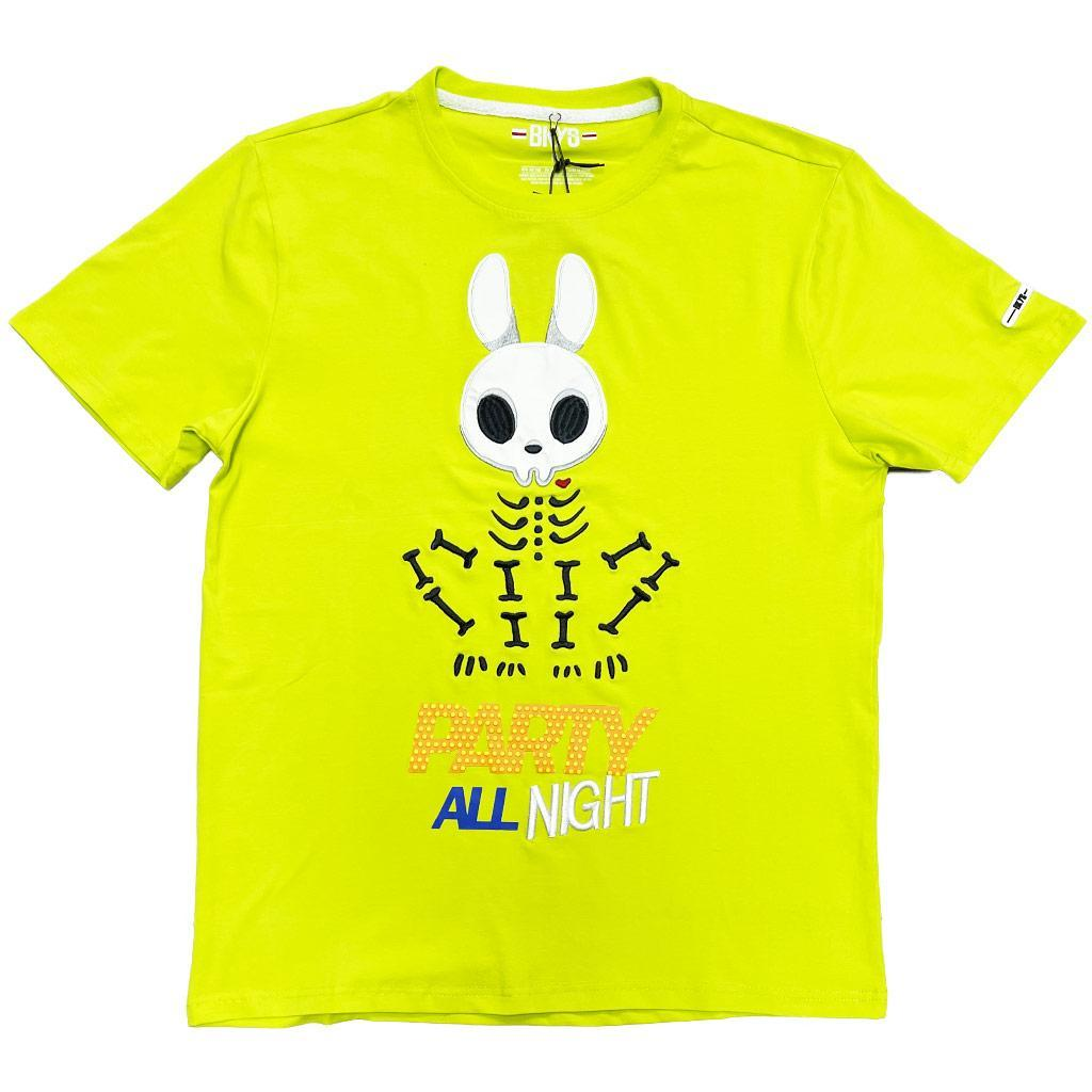 Party All Night Tee (Lime) | BKYS Clothing