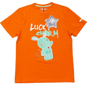Lucky Star Tee (Orange)