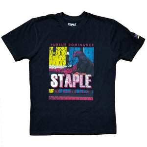 Posterized Fence Block Tee | Staple Pigeon