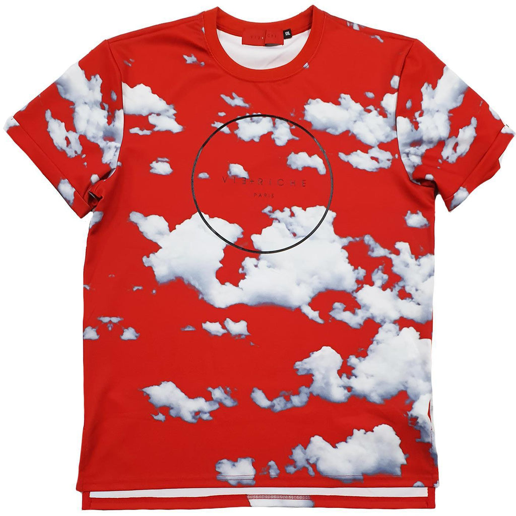 Clouded Tee (Red)