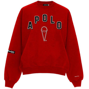 Apolo High School Sweater (Red) | Apolo Apparel