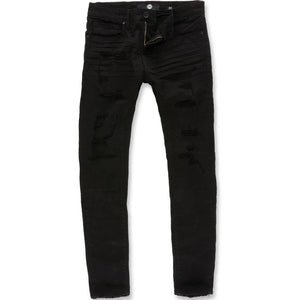 Sean Skinny Denim (Jet Black) | Jordan Craig