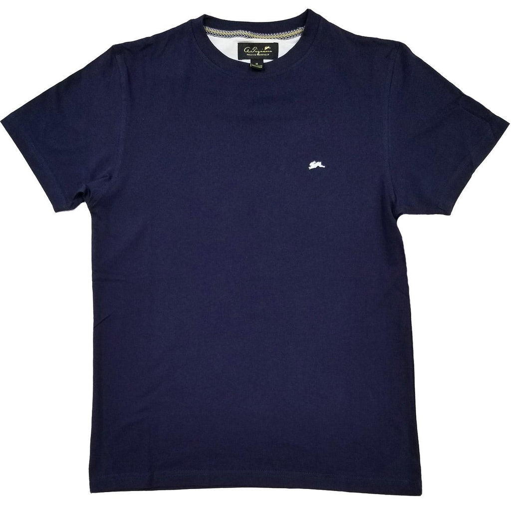 Evan Plain T-Shirt (Navy) | A. Tiziano