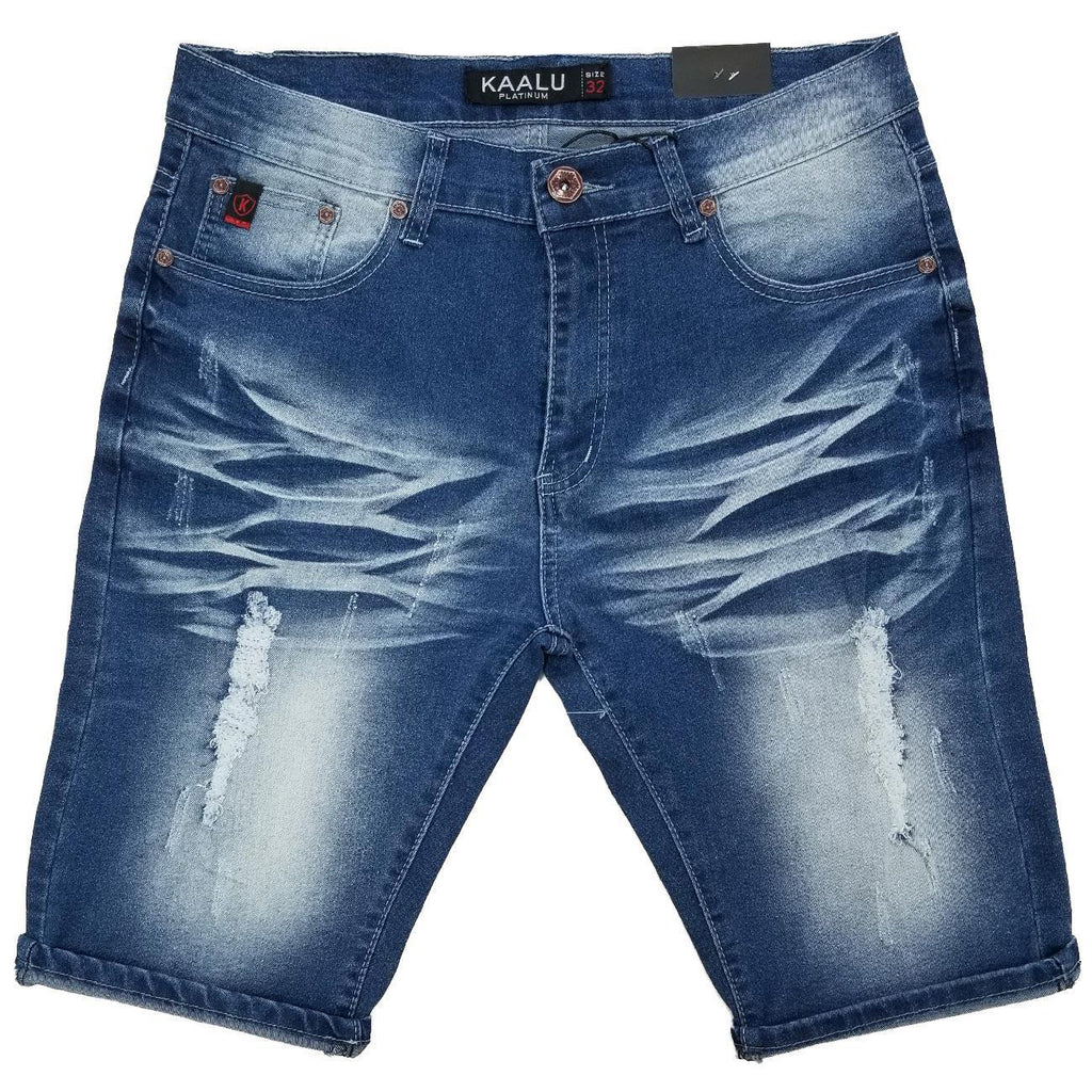 Light Wash Jean Shorts | Kaalu Jeans
