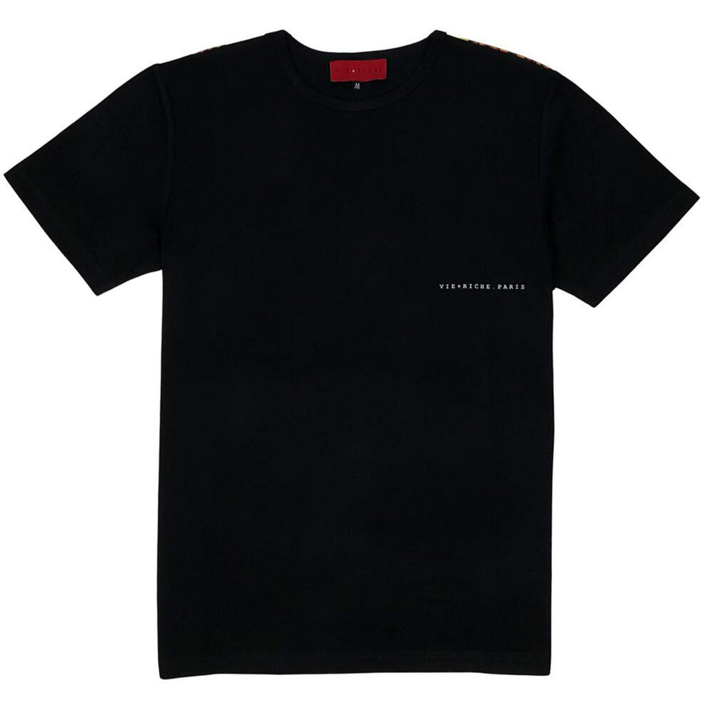 Saint Louis Tee (Black) | VIE+RICHE Paris