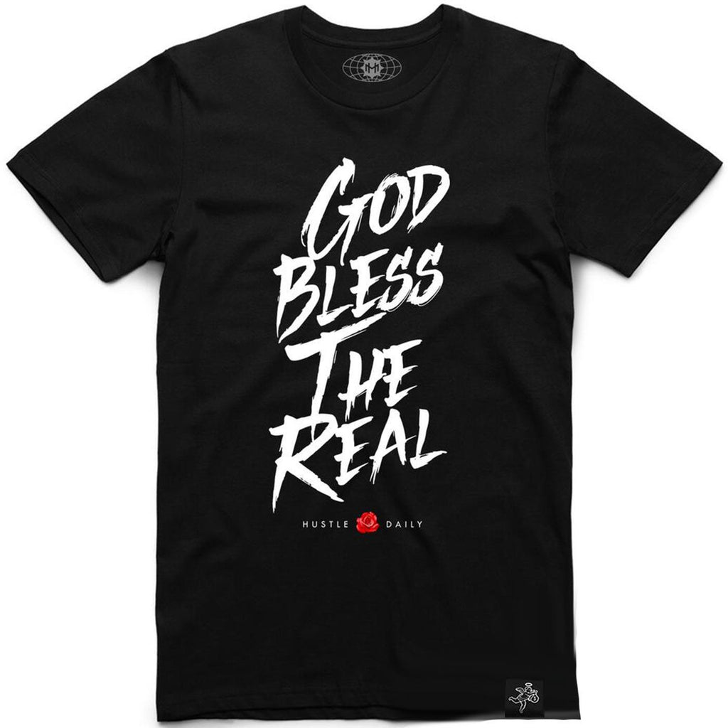 God Bless The Real Tee (Black)