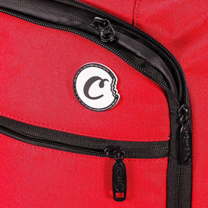 Trek Roller Smell Proof Travel Bag (Red) Detail | Cookies Clothing