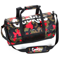 Summit Ripstop Smell Proof Duffle Bag (Red Camo) | Cookies Clothing