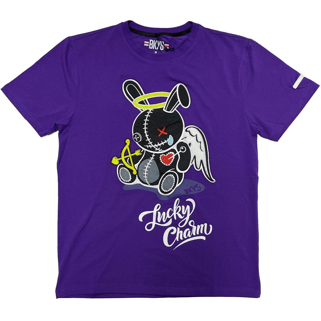 Lucky Angel Tee (Purple) | BKYS Black Keys