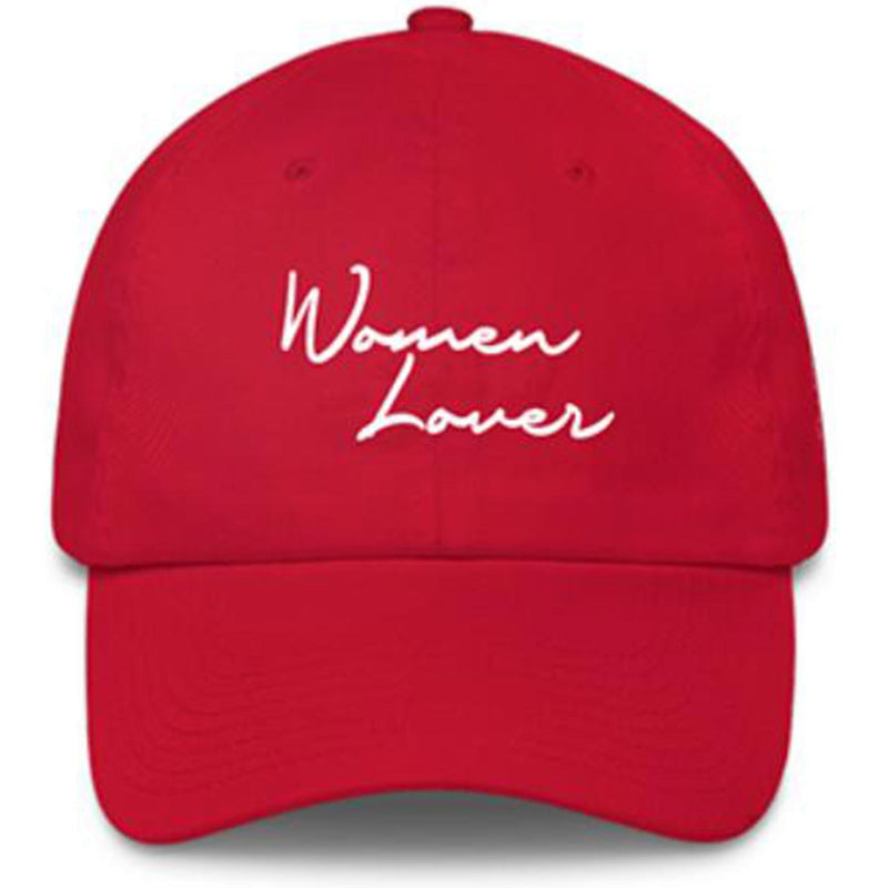 Powerful Women Lover Hat (Red)