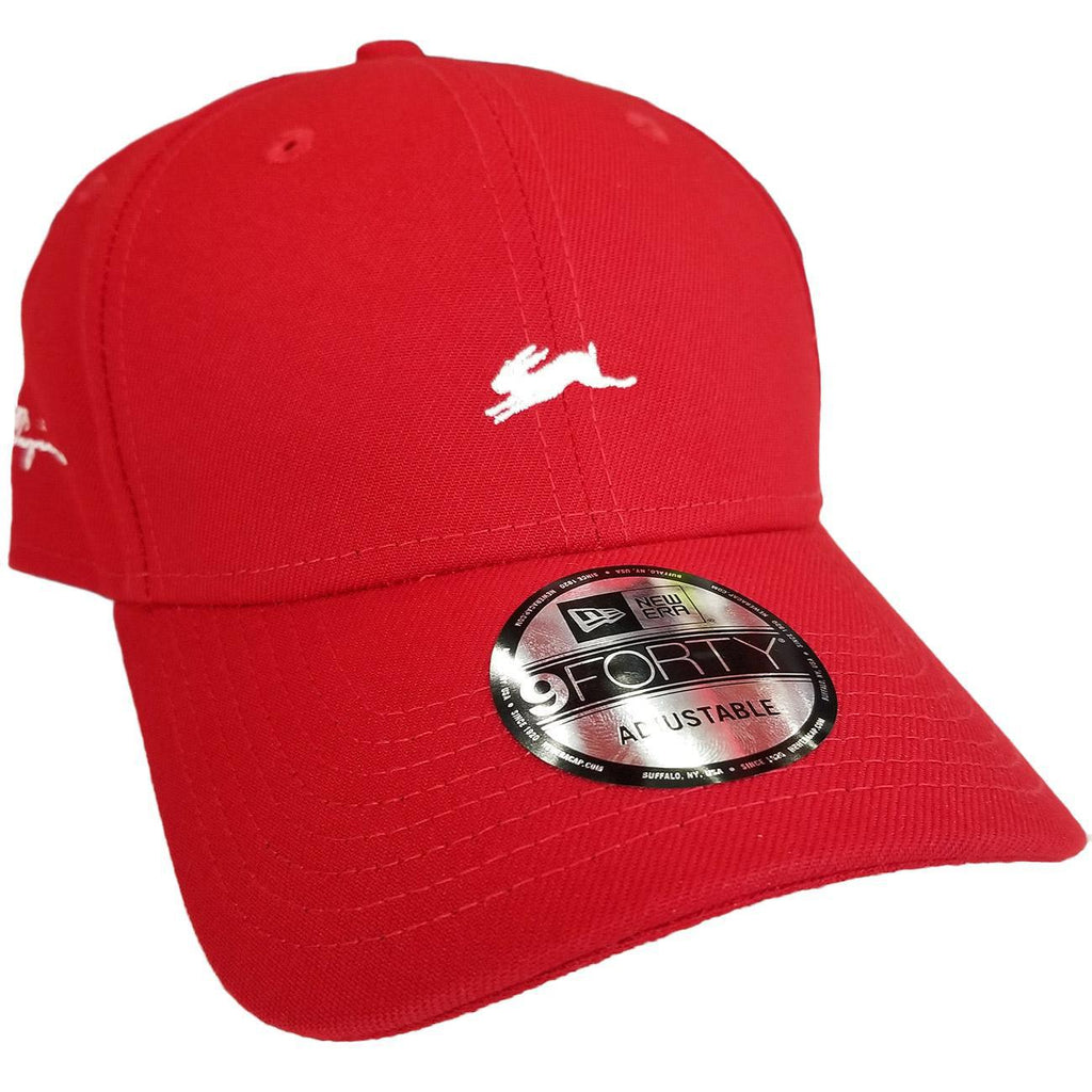 Michael New Era Hat (Red) | A. Tiziano