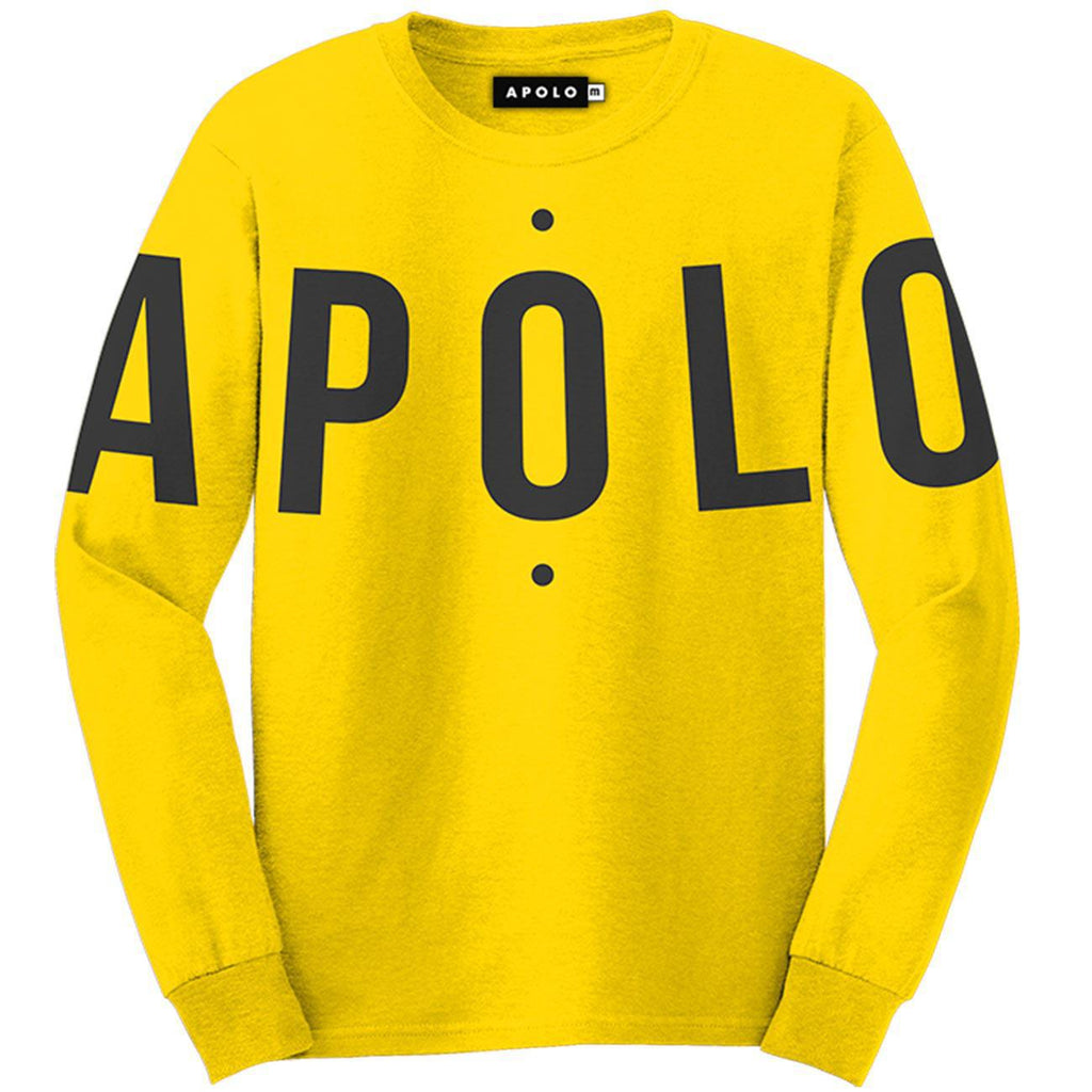 Apolo Logo Crewneck (Yellow) | Apolo Apparel