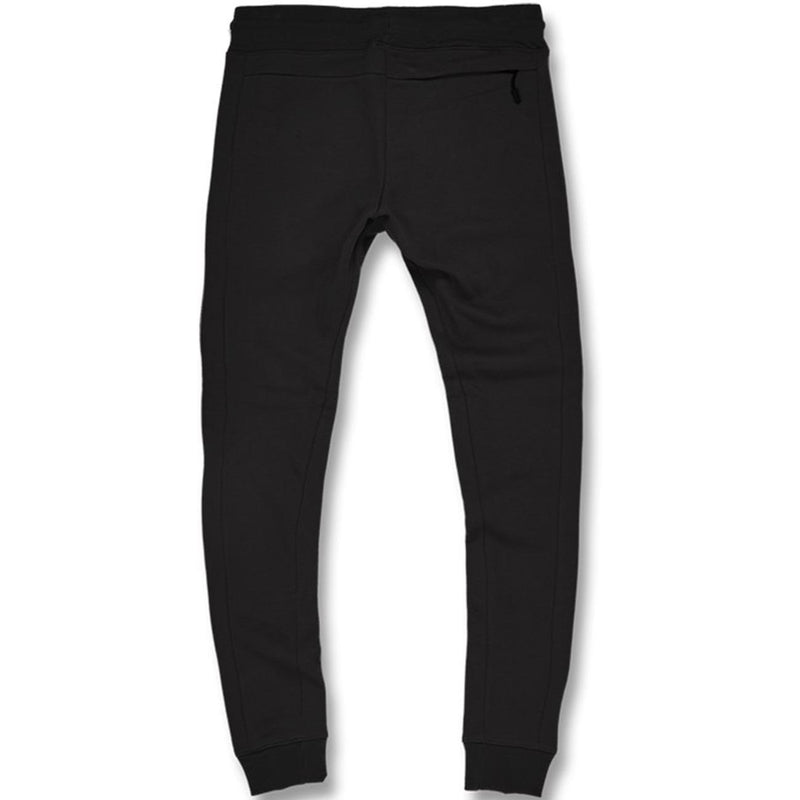 Uptown Jogger Sweatpants (Black) Rear | Jordan Craig