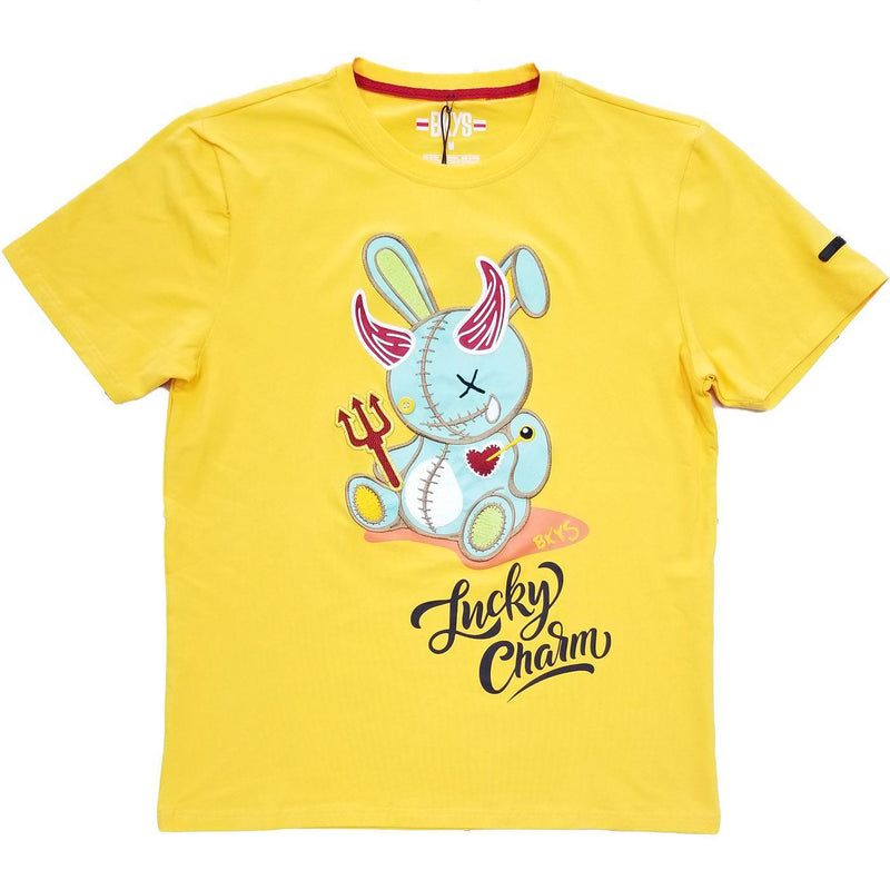 Lucky Devil Tee (Gold)