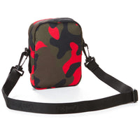 Layers Smell Proof Nylon Shoulder Bag (Red Camo) Rear | Cookies Clothing