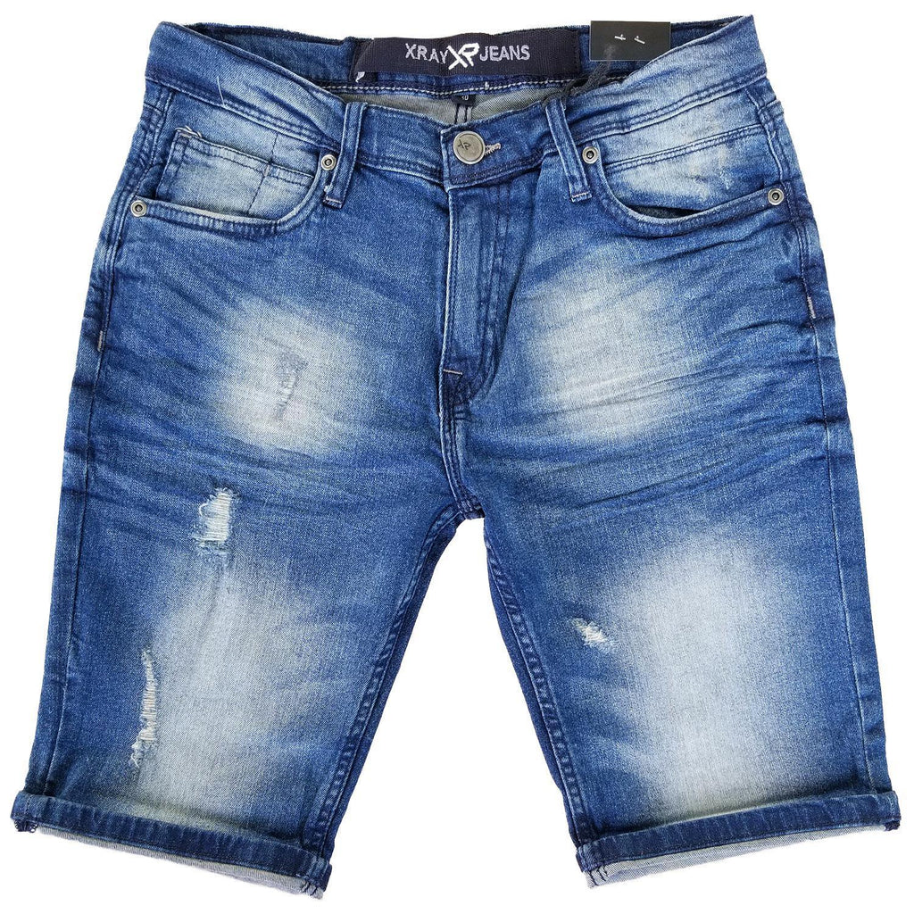 Vintage Wash Denim Shorts | X Ray Jeans