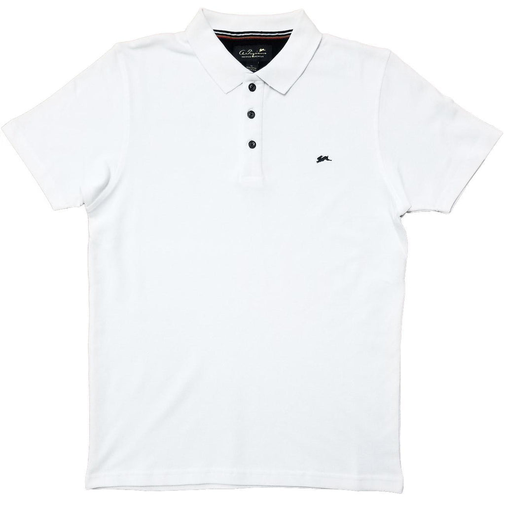 Marcus Polo Shirt (White) |  A. Tiziano