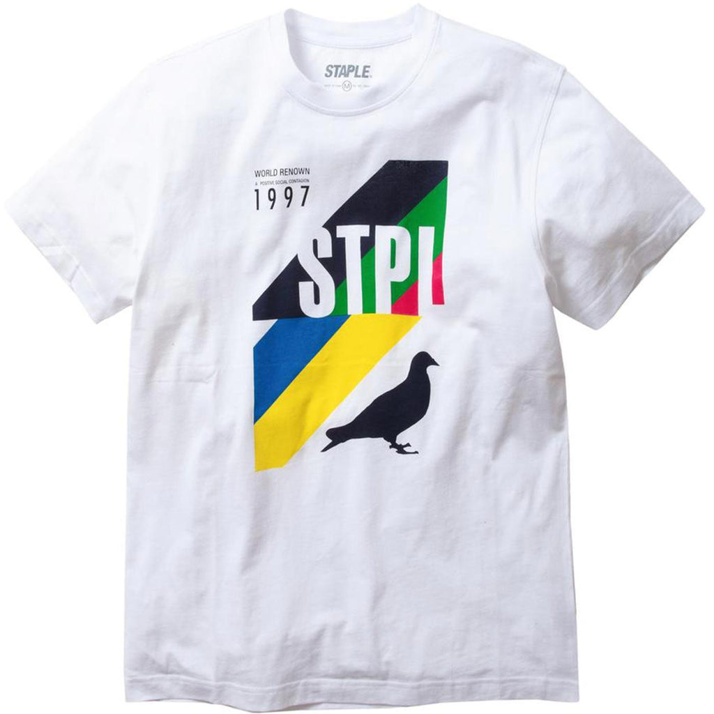 Sport Graphic Tee (White)
