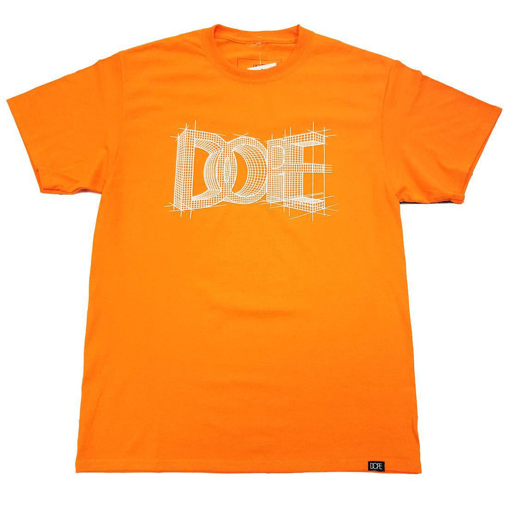 DOPE Blueprint Tee (Orange)