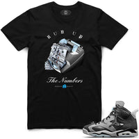 Chrome Run Up Tee (Black)
