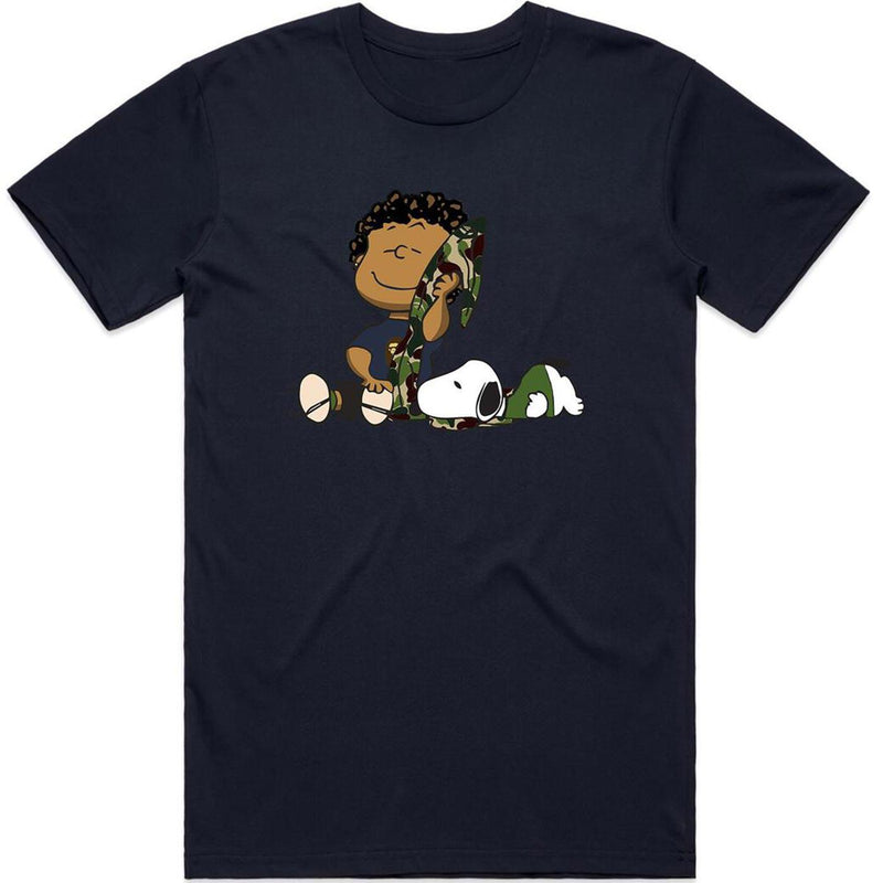 Hype Kid Bape Tee (Navy) | Streetwear Official