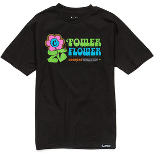Flower Power Tee (Black) | Cookies Clothing