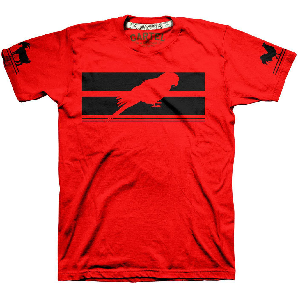 3 Animals Tee (Red)