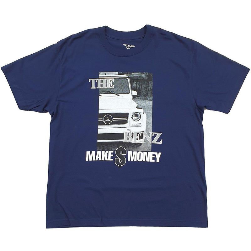 The Benz Tee (Navy Blue)