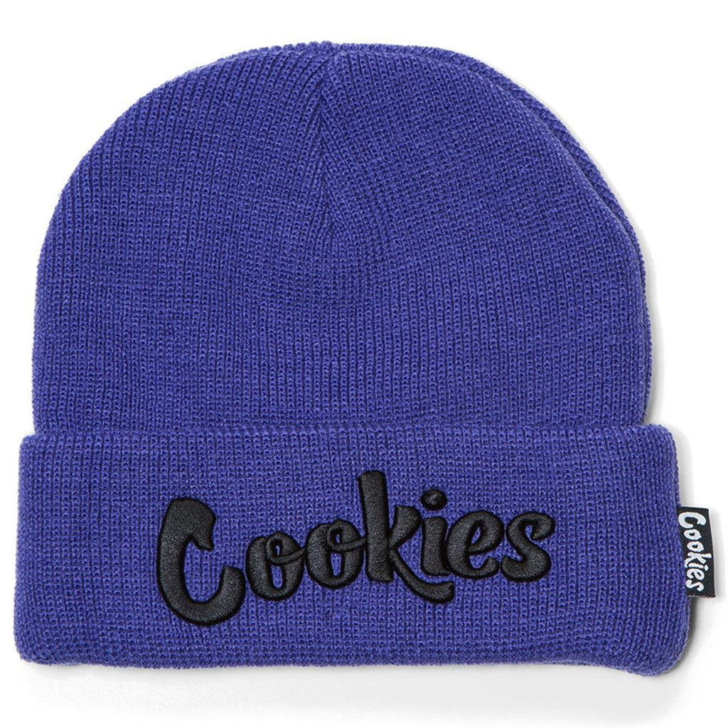 Original Embroidered Beanie (Lavender) | Cookies SF Clothing