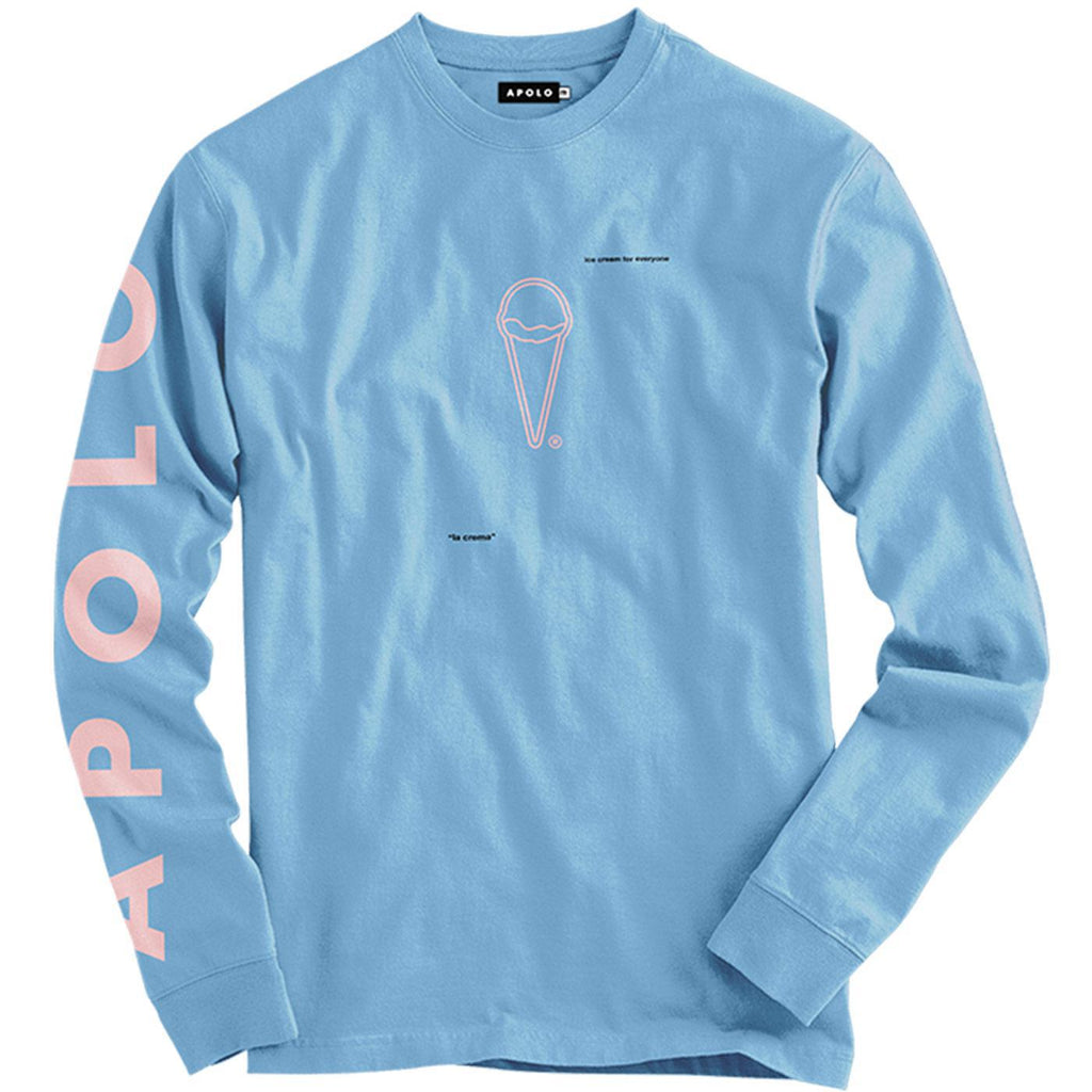 ICFE Long Sleeve Tee (Celeste Blue) | Apolo Apparel