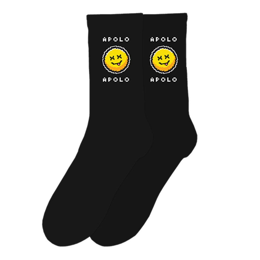 Energy Socks (Black) | Apolo Apparel