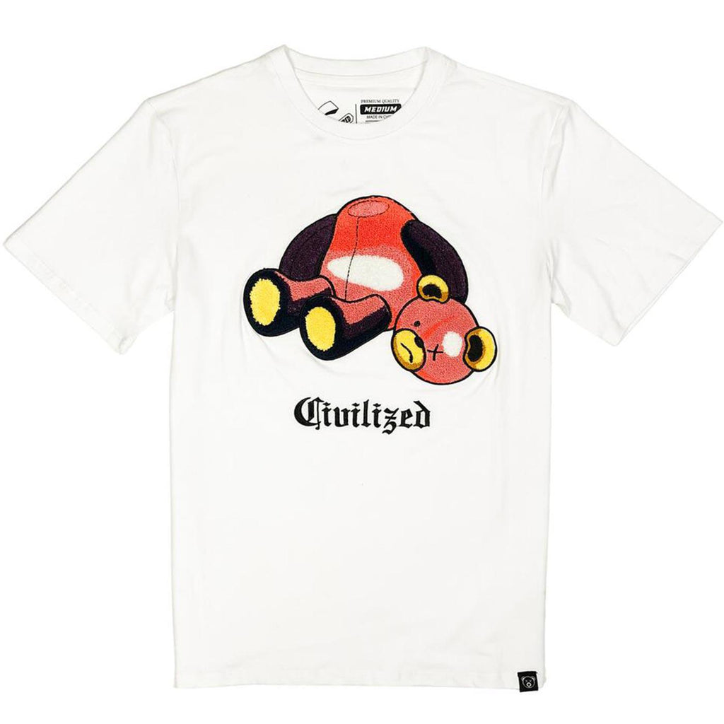 Civilized Bear Tee (White)